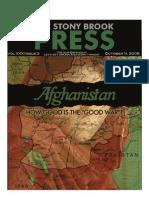 The Stony Brook Press - Volume 31, Issue 3