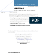 The Bahamas 2013 Article IV Consultation Report