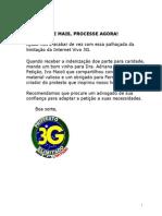 Modelo de Peticao Acao Judicia Contra Vivo Internet 3G