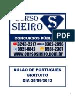 AULÃO GRATUITO VERBOS