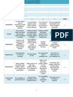 Elena Bashi - Rubric for Peer Assessment