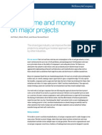 Saving Time and Money on Major Projects