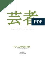 Mida Ideogrammi - La followership, Corrado Bottio