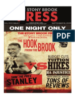 The Stony Brook Press - Volume 31, Issue 1