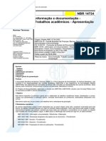 Normas ABNT NBR 14724 para formatação de trabalho científico, monografia e TCC _ Trabalhos de Conclusão de Curso