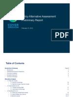 Cover Oregon Policy Preliminary Report