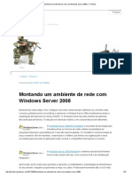 Montando Um Ambiente de Rede Com Windows Server 2008