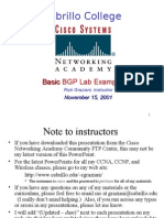 BGP Basic Labs