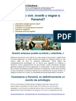 Como vivir e invertir en Panama - info GRATIS!.pdf