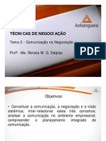 A1 Videoaula Online TGP1 Tecnicas de Negociacao Tema 2