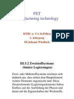 Fertigungstechnik 2.Jahrgang Neuer Lehrplan2012