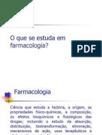 Aula 1- introdução à Farmacologia-2o sem 2011- Podologia