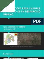 Metodología de desarrollo urbano