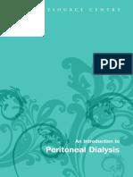 Intro to Peritoneal Dialysis Mar 2010