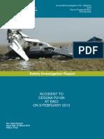 Rapport sur le crash à Charleroi