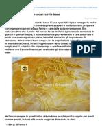 Blog.giallozafferano.it-strozzapreti Pasta Fresca Ricetta Base