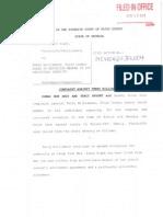 Lawsuit Against Terry Williamson