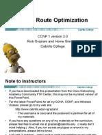 Cis185 Mod8 RouteOptimization Part1