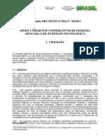 CNPq - Chamada 94-2013