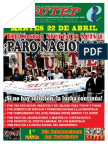 Documentos Sutep - PARO NACIONAL 22 DE ABRIL
