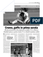 La Cronaca 27.10.2009