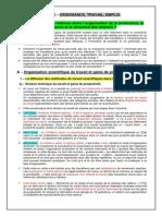 CHAP 3 - 31 - A - Organisation Du Travail, Croissance Et Emploi _Cours_ _2009-2010