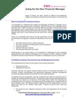 Financial Training for non fin