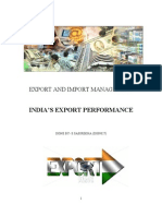 Export and Import Management