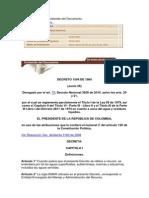 Decreto 1594 de 84