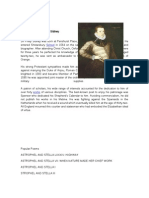Biography of Sir Philip Sidney