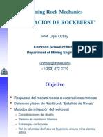 RockBurst Estallidos de Roca