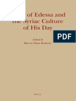 Bas Ter Haar Romeny Jacob of Edessa and the Syriac Culture of His Day Monographs of the Peshitta Institute Leiden 2009