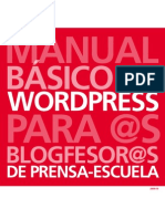 Guía Wordpress Galego 2010 Prensa Escuela