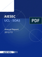 AIESEC UCL-SOAS Annual Report 2012-13