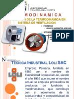 Termodinámica 2013 - Informe final