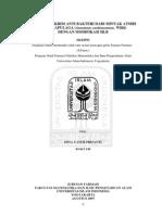 Anti Jerawat Uii Skripsi Formulasi Krim Anti 03613130 DINA CATUR PRISANTI 4027490030 Preliminari