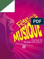 Fete de La Musique 2013