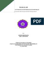 Perkembangan Teknologi Informasi Dan Komunikasi