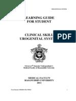 Student Manual Urogenitalia 2011
