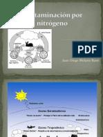 Contaminación por nitrógeno