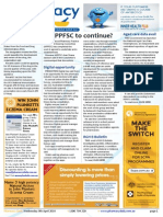 Pharmacy Daily for Wed 09 Apr 2014 - APPFSC to continue?, Bexsero Breakthrough, Aged care data avail, Digital opportunity and much more