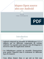 Bibliothèques Open source d'Android