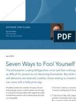 7 Ways to Fool Yourself