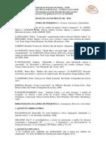 Bibliografia PPGEL -2014