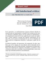 El Ocaso Del Intelectual Critico