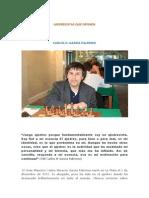 AJEDRECISTAS QUE DEFINEN. CARLOS H. GARCÍA PALERMO