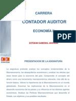 Economia II Unidad I Introducción a la Macroeconomía