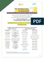 Segunda Circular - I Encuentro Internacional de Educación