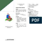 Leaflet Anemia Lansia
