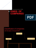 Kinds of Companies